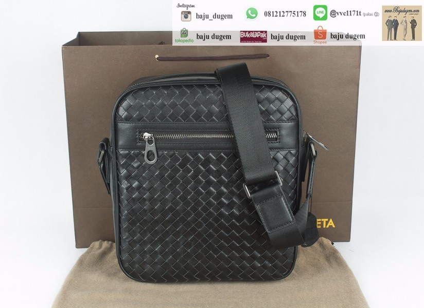 Tas Lempang / Messenger Bag Bottega veneta Super Premium Impor - MB BOVEN SP1
