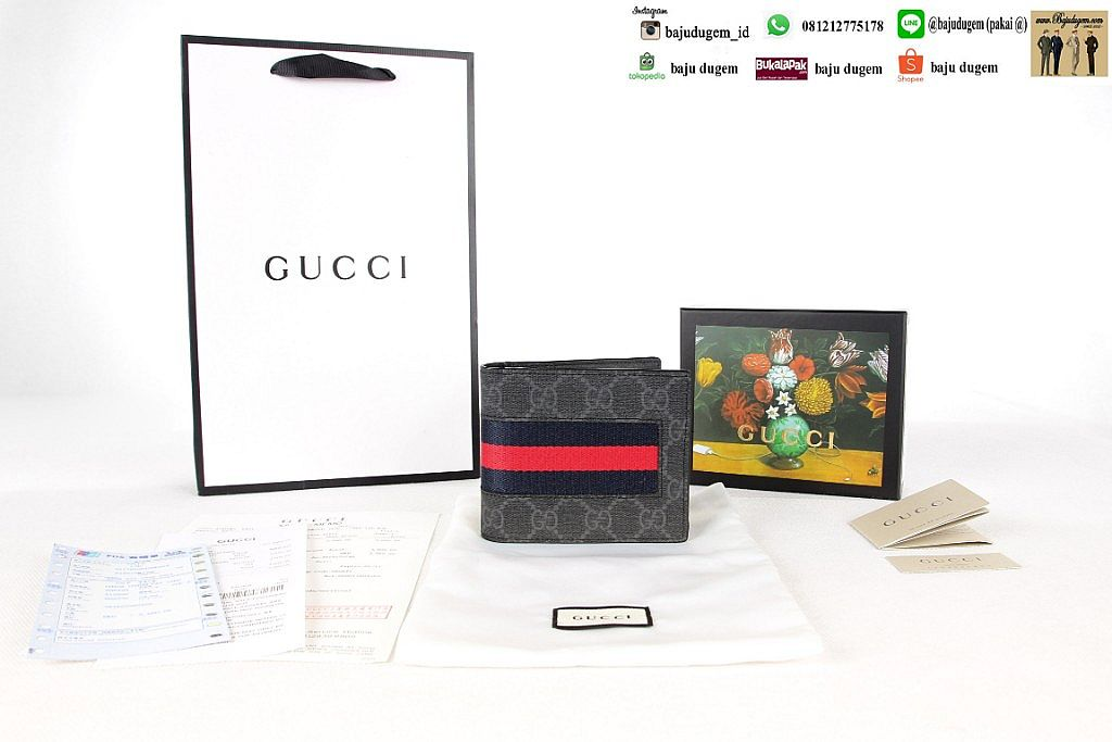 Dompet Gu cci Mirror 1:1 Import Quality ( W GC 5)